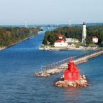Lighthouses In Door County