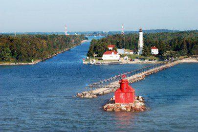 Lighthouses In Door County